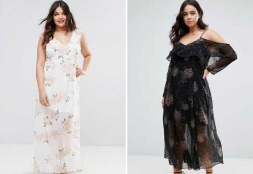 Красивые шифоновые платья 2017
