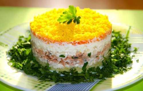 Рецепты салата мимоза с горбушей, секреты выбора