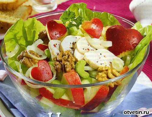 Узнай как приготовить салаты: какие составляющие
