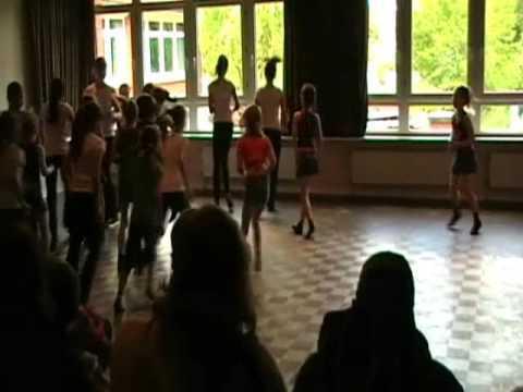 Разминка перед танцами