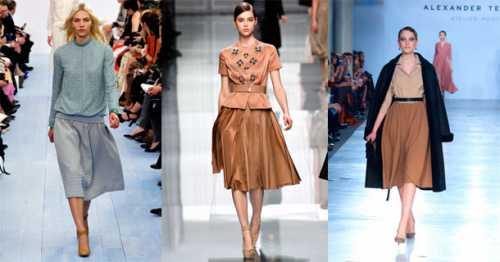 Мода на плиссированные юбки — с чем носить