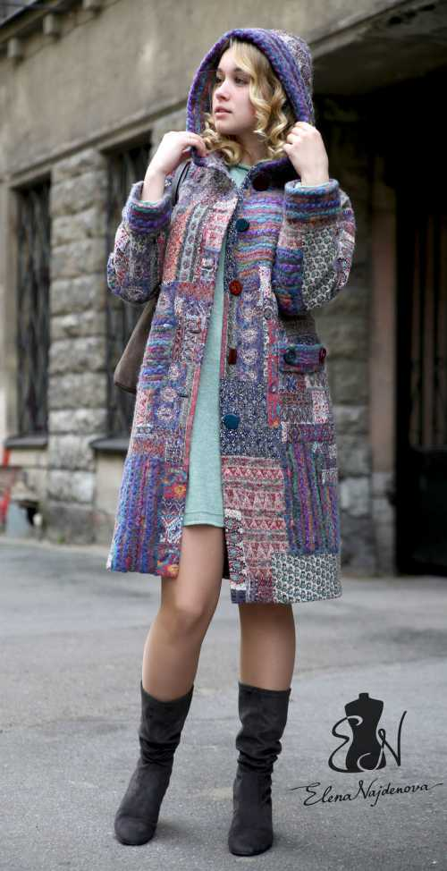 Одежда в стиле пэчворк