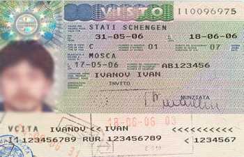 Виза в Италию: список документов, правила, фото
