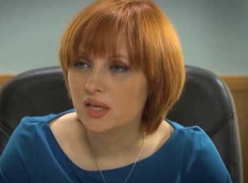 Елена Ксенофонтова в кадре и за кадром