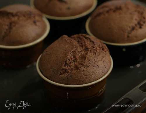 Суфле шоколадное