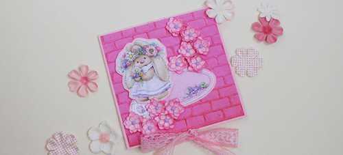 Объемные цветы для украшения открытки своими руками