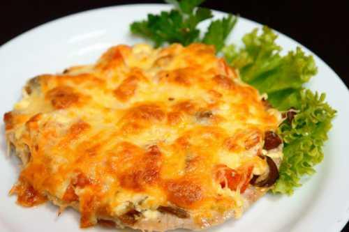 Рецепты отбивных с ананасами и сыром, секреты