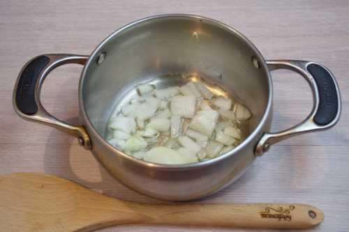 Суп на грибном бульоне
