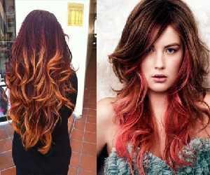 Омбре на длинные волосы: фото: как выбрать вид