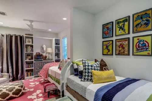 Интерьер детской комнаты небольшого размера