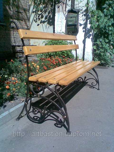 Кованые скамейки для сада