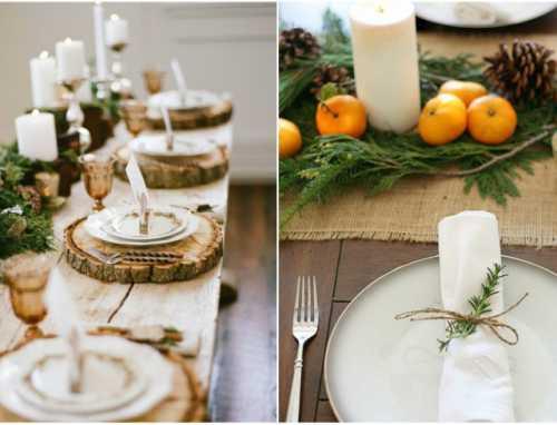 Как украсить новогодний стол: идеи декора