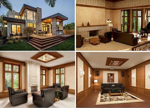 Дом в стиле контемпорари