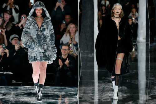 Рианна представила новую коллекцию Fenty x Puma в японском стиле