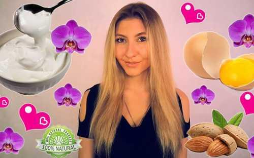 Маска для сухих кончиков волос: какой эффект