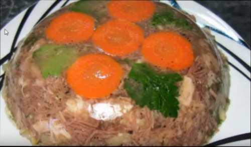Рецепты холодца из свинины и говядины: секреты